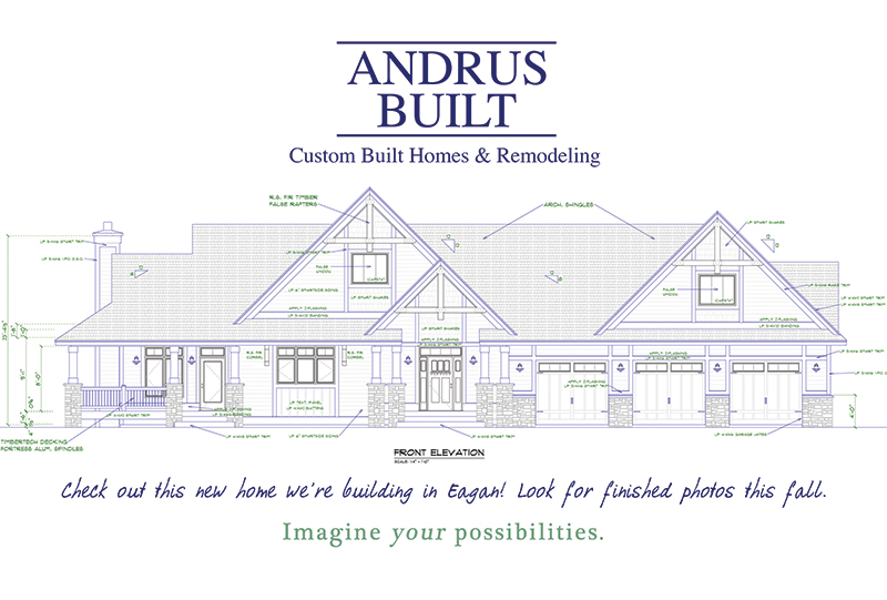 Builder Remodeler North St Paul Twin Cities MN | Andrus Built